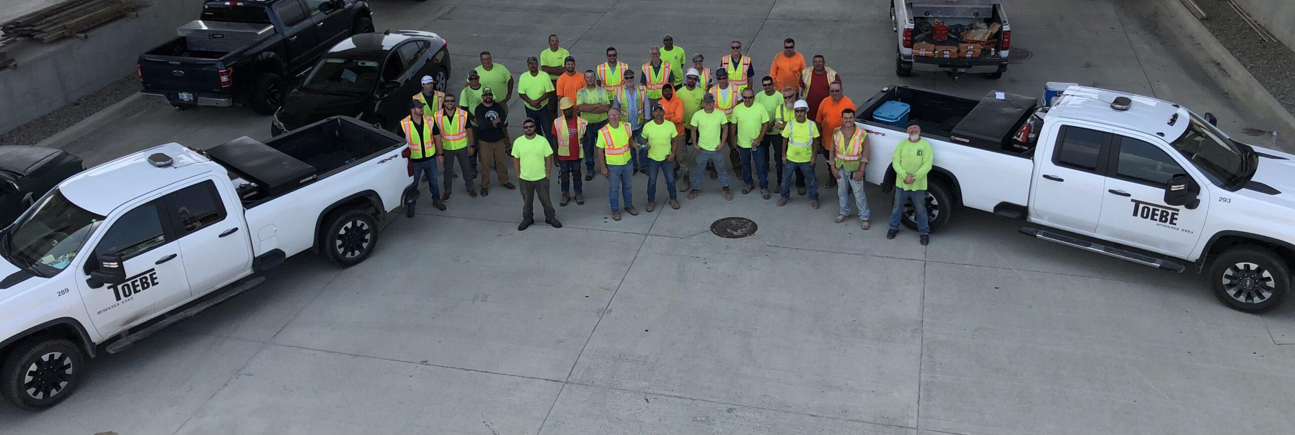 Toebe Construction Safety Award